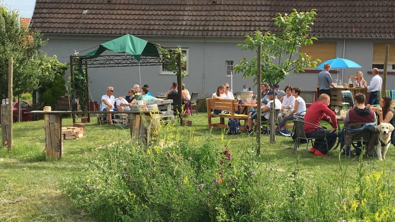 Gartenlounge Ausschank Juni 2019